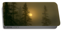 Sunrise Through The Fog 2 Portable Battery Charger