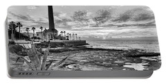 Portable Battery Charger featuring the photograph Sunset At Chipiona Lighthouse Cadiz Spain by Pablo Avanzini