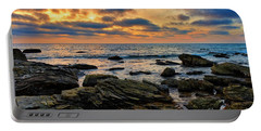 Sunset At Crystal Cove Portable Battery Charger
