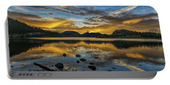 Sunset At Summit Cove Portable Battery Charger