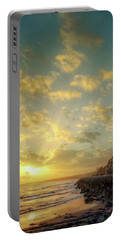 Portable Battery Charger featuring the photograph Sunset In The Coast by Carlos Caetano