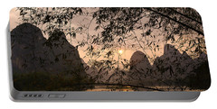 Sunset On The Li River Portable Battery Charger