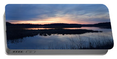 Sunset On The Marsh Portable Battery Charger