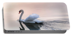 Sunset Swan Portable Battery Charger