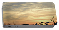 Portable Battery Charger featuring the photograph Sunset View by Arik Baltinester