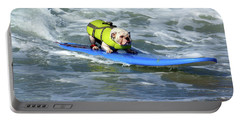 Surfing Dog Portable Battery Charger