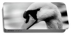 Swan Portrait Portable Battery Charger