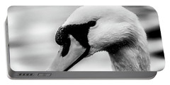 Swan Portrait Portable Battery Charger