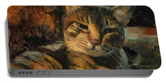 Tabby Nap Portable Battery Charger