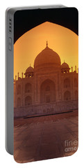 Taj Mahal View Portable Battery Charger