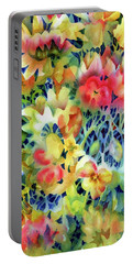 Tangled Blooms Portable Battery Charger