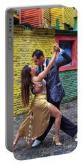 Portable Battery Charger featuring the photograph Tango 02 by Bernardo Galmarini