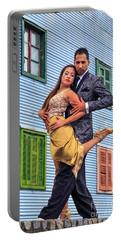 Portable Battery Charger featuring the photograph Tango 03 by Bernardo Galmarini