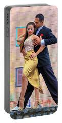 Portable Battery Charger featuring the photograph Tango 05 by Bernardo Galmarini