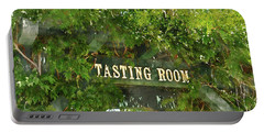 Tasting Room Sign Portable Battery Charger