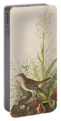 Tawny Thrush  Portable Battery Charger