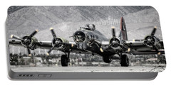 B-17 Bomber Madras Maiden  Portable Battery Charger