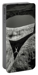 Teardrop Arch Portable Battery Charger