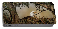 Tending The Nest Portable Battery Charger by TnBackroadsPhotos