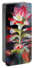Texas Indian Paintbrush Portable Battery Charger
