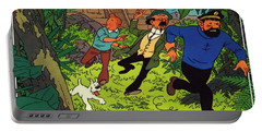 The Adventures Of Tintin Portable Battery Charger