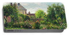 The Artist's Garden At Eragny Portable Battery Charger