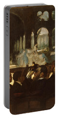The Ballet From Robert Le Diable Portable Battery Charger by Edgar Degas