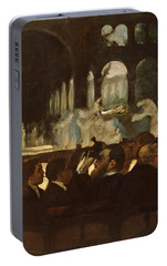 Portable Battery Charger featuring the painting The Ballet From Robert Le Diable by Edgar Degas