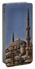 The Blue Mosque In Istanbul Turkey Portable Battery Charger