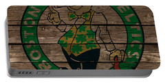The Boston Celtics 1e Portable Battery Charger by Brian Reaves