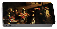 The Calling Of St. Matthew Portable Battery Charger