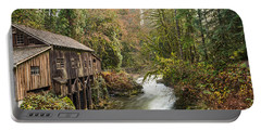 The Cedar Creek Grist Mill In Washington State. Portable Battery Charger