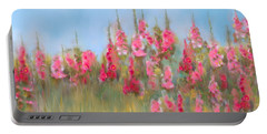 The Earth Laughs In Flowers Portable Battery Charger