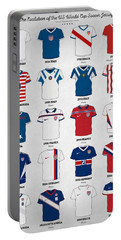 The Evolution Of The Us World Cup Soccer Jersey Portable Battery Charger