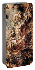Portable Battery Charger featuring the painting The Fall Of The Damned by Peter Paul Rubens