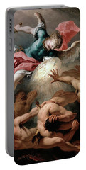 The Fall Of The Rebel Angels Portable Battery Charger