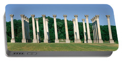 The First Capitol Columns Of The United Portable Battery Charger by Panoramic Images