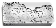 The Four Presidents Portable Battery Charger