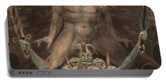 The Great Red Dragon And The Beast From The Sea Portable Battery Charger