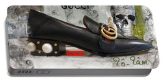 The Gucci Supreme Shoe 3 Portable Battery Charger