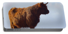 The Highland Cow Portable Battery Charger