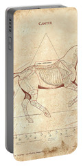 The Horse's Canter Revealed Portable Battery Charger by Catherine Twomey