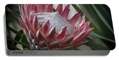 The King Of Proteas Portable Battery Charger
