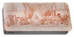 The Last Supper, After Leonardo Da Vinci Portable Battery Charger