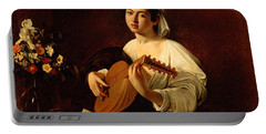 The Lute-player Portable Battery Charger