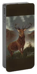 The Monarch Of The Glen Portable Battery Charger
