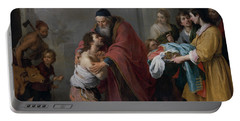 The Return Of The Prodigal Son Portable Battery Charger by Bartolome Esteban Murillo