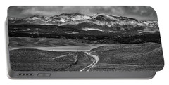 The Road That Leads You Home Portable Battery Charger by Peter Tellone