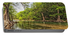 The Scenic Guadalupe River Portable Battery Charger by Mountain Dreams
