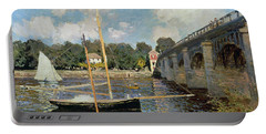 The Seine At Argenteuil Portable Battery Charger